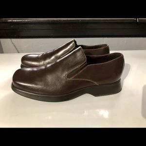 Bacco Bucci Brown Slip-on Shoes
